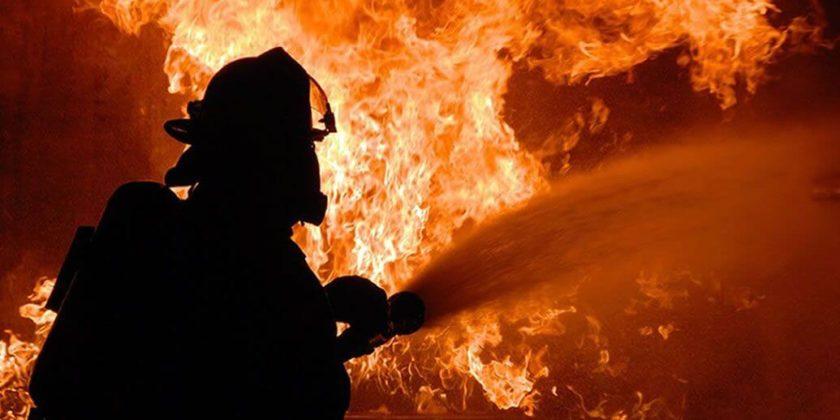 Пожар Верхний Уфалей