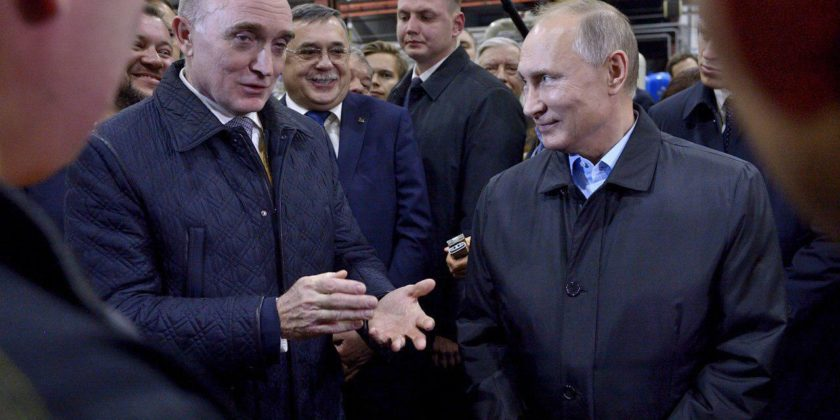 Владимир Путин Борис Дубровский