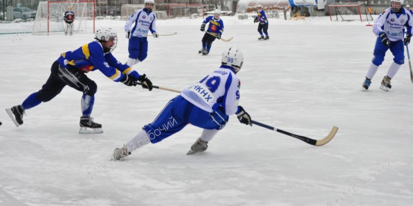 Хоккей с мячом Верхний Уфалей
