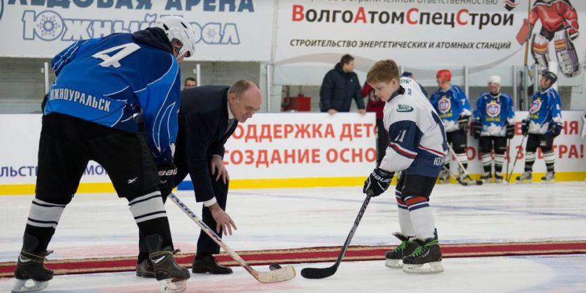 Дубровский ледовая арена Южный Урал