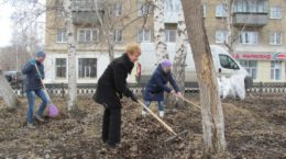 Весна субботники администрация Верхний Уфалей