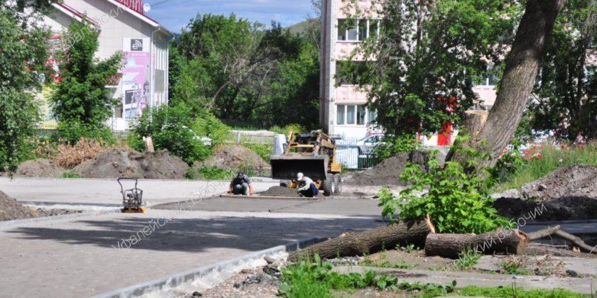 Детский парк Верхний Уфалей