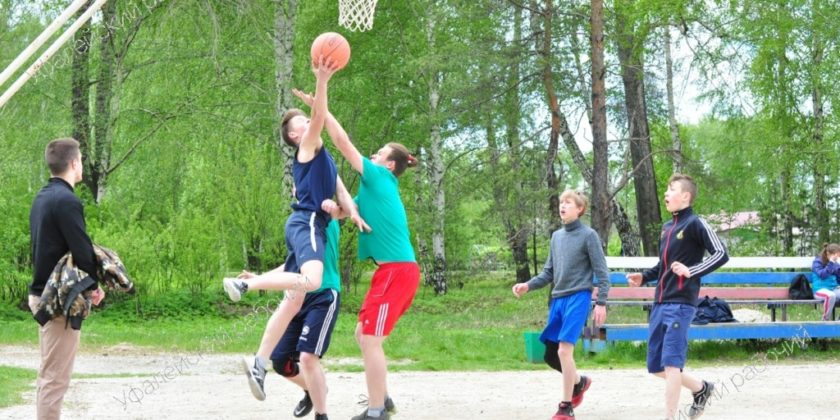 стритбол Верхний Уфалей