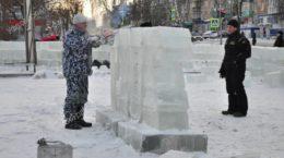 Снежный городок Верхний Уфалей