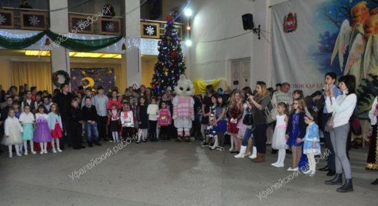 рождественская ёлка губернатор Верхний Уфалей