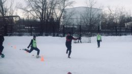 зимний мини-футбол Верхний Уфалей
