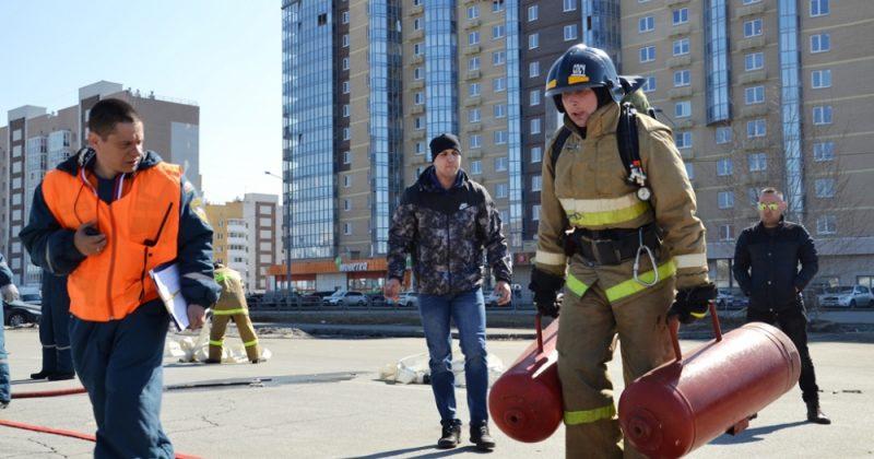 пожарные МЧС Верхний Уфалей