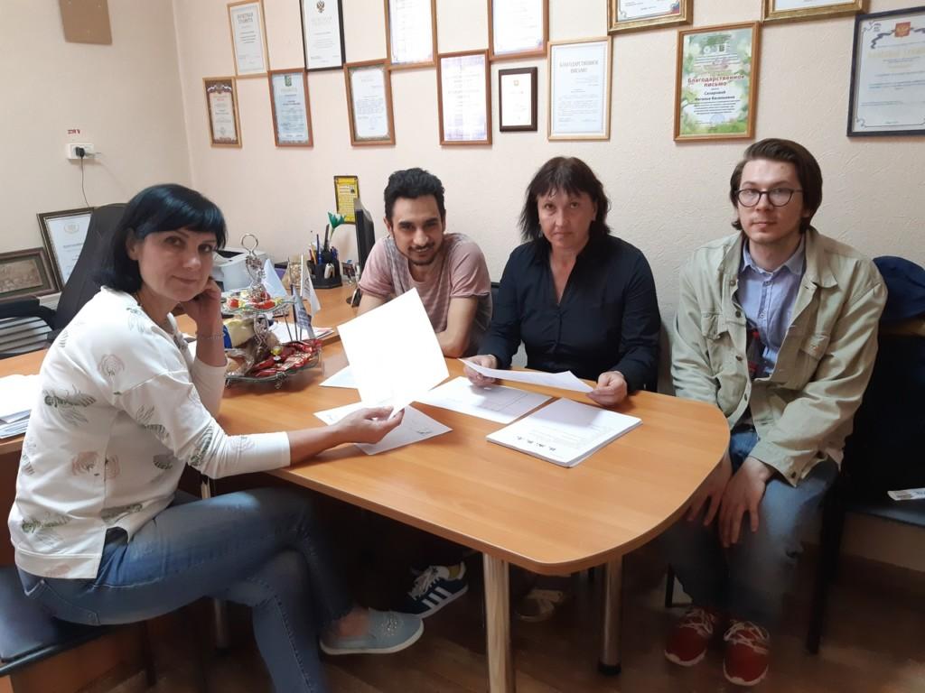 В театре «Вымысел» идёт работа над новым спектаклем «Н. Ж. В. Д.»