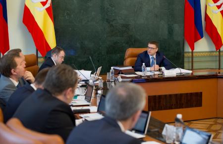 Алексей Текслер ознакомил областных министров и глав муниципалитетов с недавними кадровыми назначениями