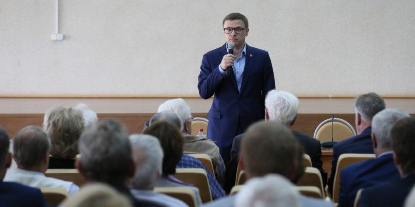 Алексей Текслер с рабочим визитом посетил Снежинск