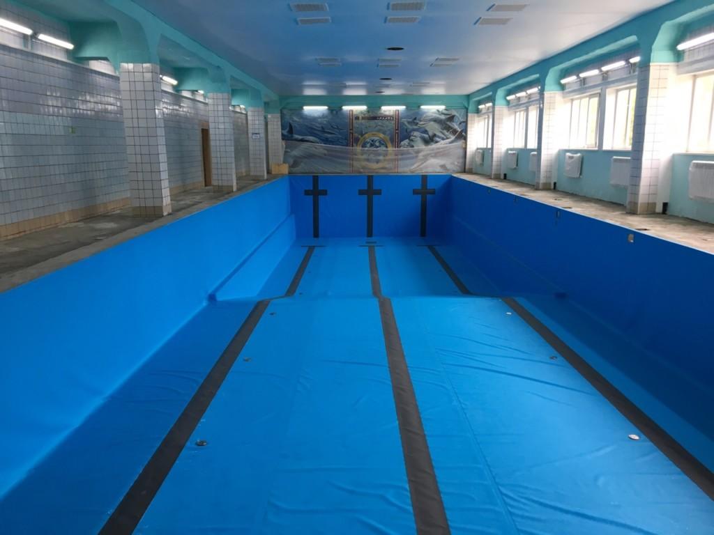 Обновлённый бассейн ФОКа скоро возобновит работу