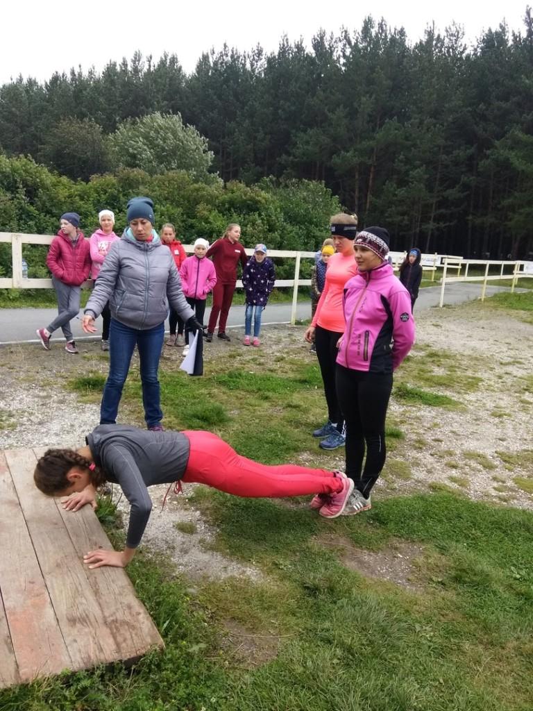 Лыжники уфалейской ДЮСШ проверили физическую форму после лета