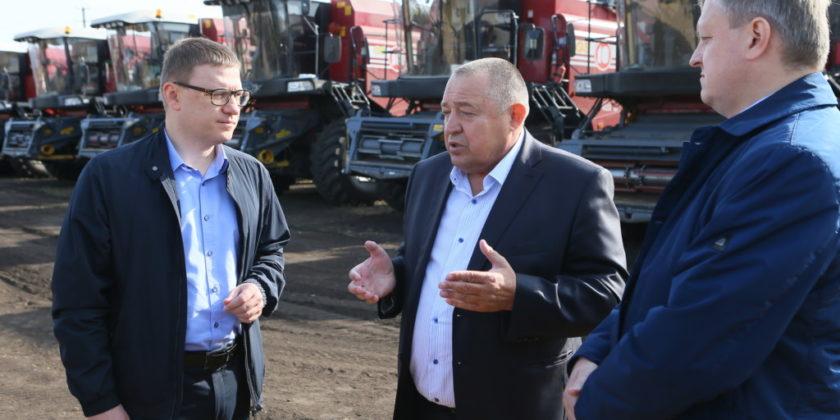 Алексей Текслер посетил Агаповский муниципальный район
